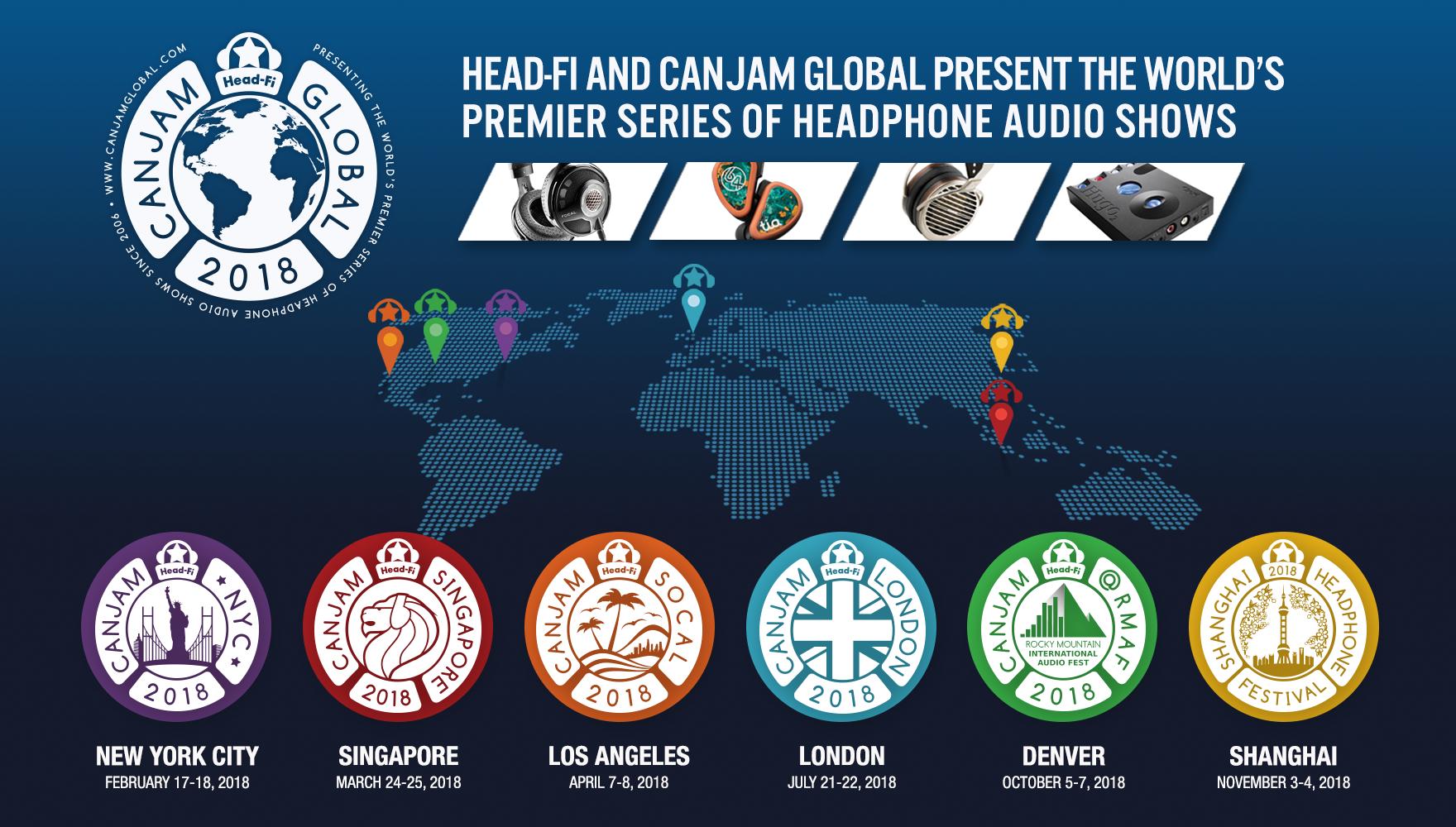 CanJam2018, Global, tintucaudio