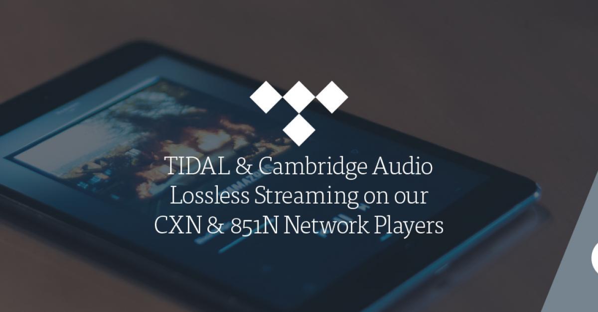 tintucaudio, tidal, cambridge audio