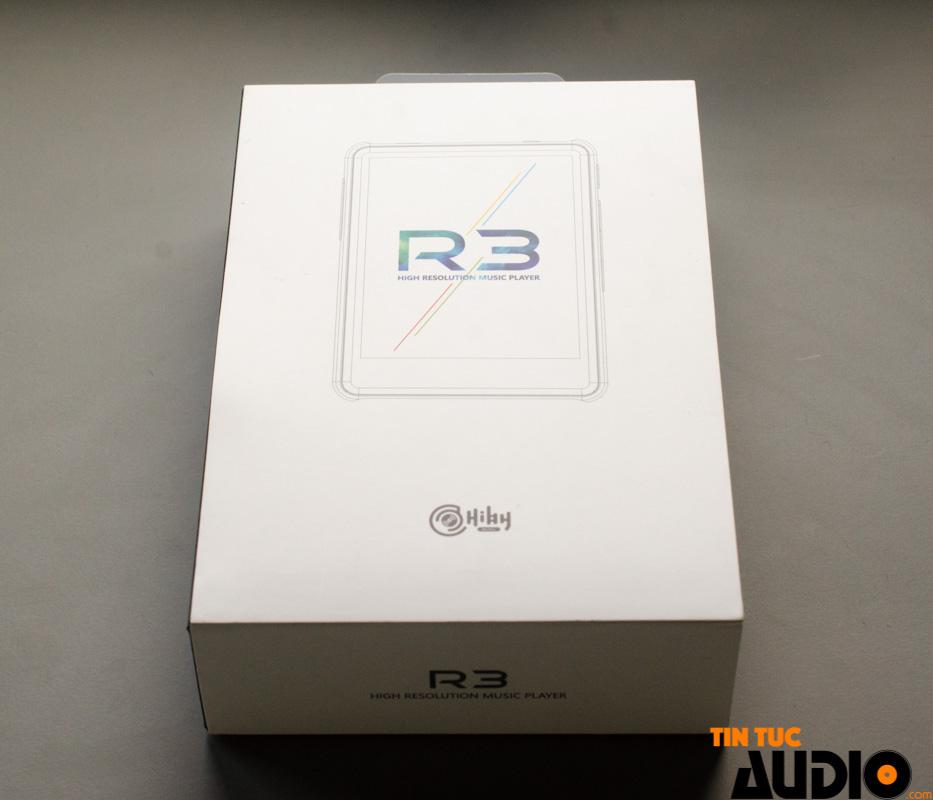 HiBy R3, máy nghe nhạc, thông minh, dap, cảm ứng, bluetooth ,tidal, không dây, tintucaudio