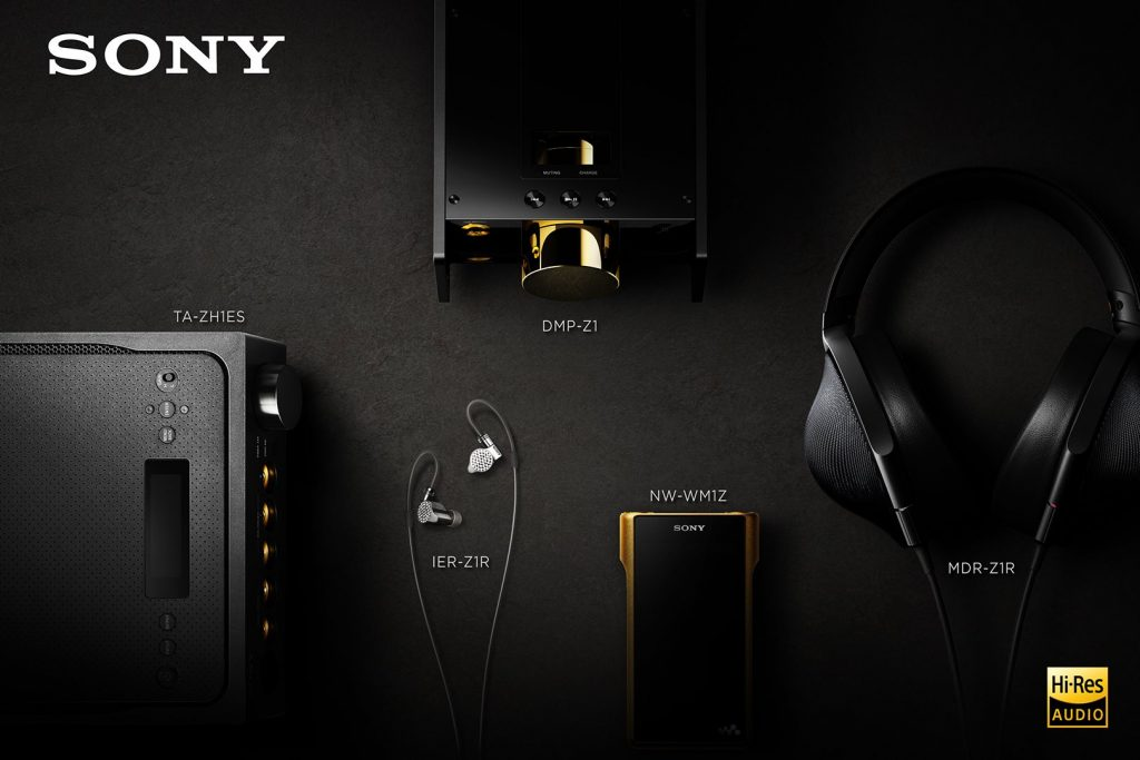 Sony DMP-Z1R, dap, cao cấp, hi-res, audio, tintucaudio, signature, sony