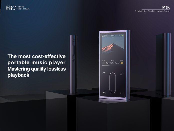 fiio, m3k, máy nghe nhạc, giá rẻ, dsd, lossless, tintucaudio