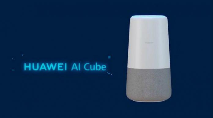 Huawei, AI Cube, loa, thông minh, Alexa, router, Wi-Fi, tintucaudio