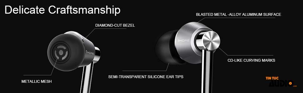 1More, e1001BT, tai nghe, không dây, bluetooth, tintucaudio