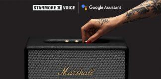marshall, google, speaker, stanmore, voice, loa, thông minh, trợ lý ảo, tintucaudio