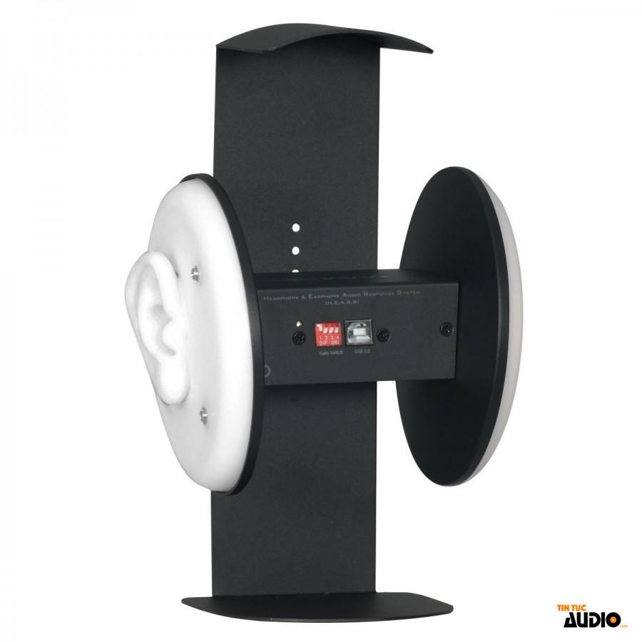 minidsp, ears, stereo, microphone, đo, đáp tuyến, tai nghe, tintucaudio