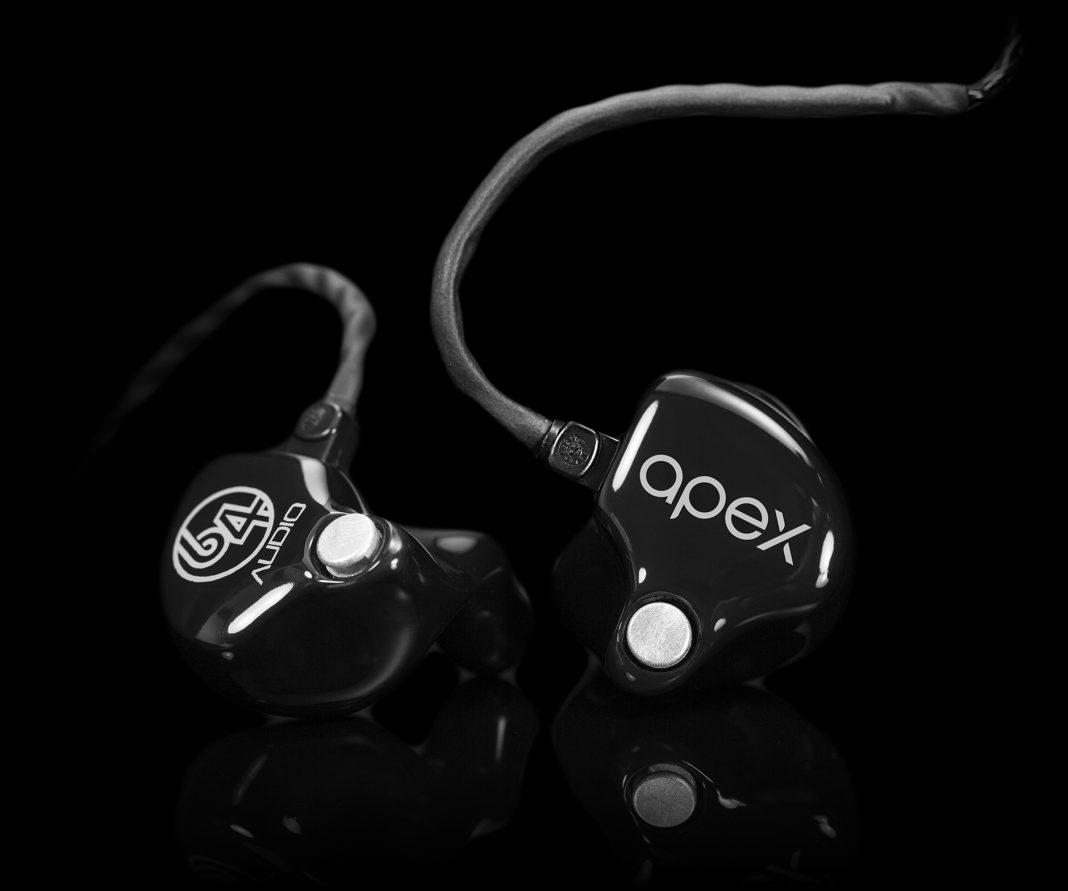 64 audio, 3d fit, tintucaudio, tai nghe, ciem, apex