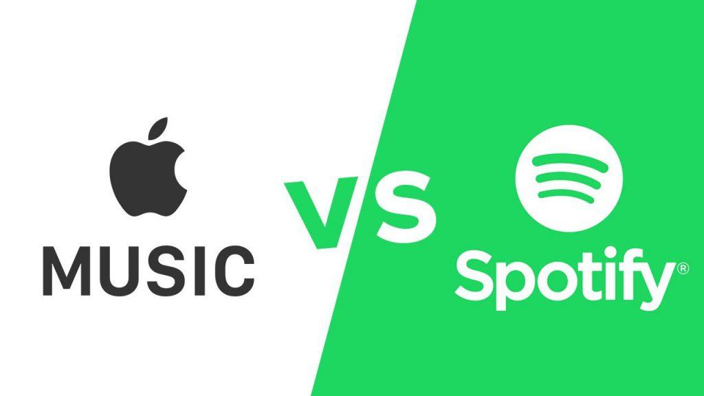 apple, music, spotify, tintucaudio