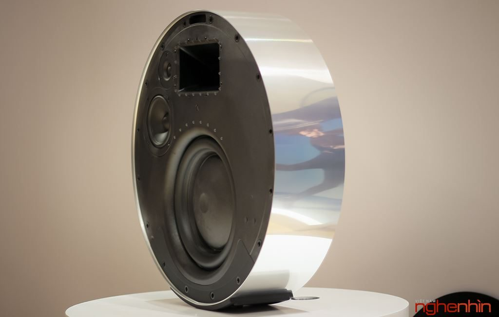 Beosound, edge, loa, cao cấp, passive radiator, tintucaudio