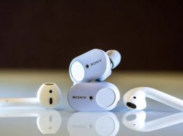 apple, sony, Surface Earbuds, microsoft, tai nghe, không dây, true wireless, cao cấp, tintucaudio